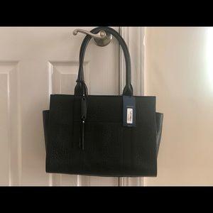 Cole Hahn Emily Large Black Handbag